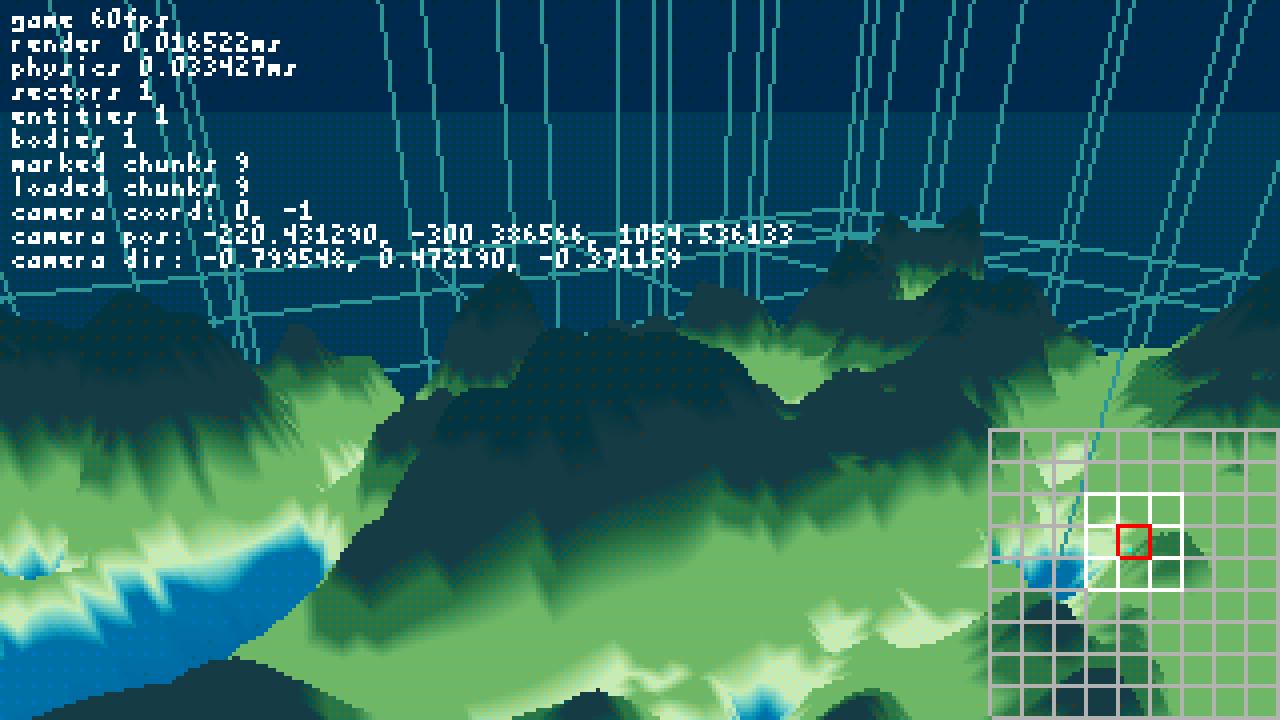 Infinite terrain