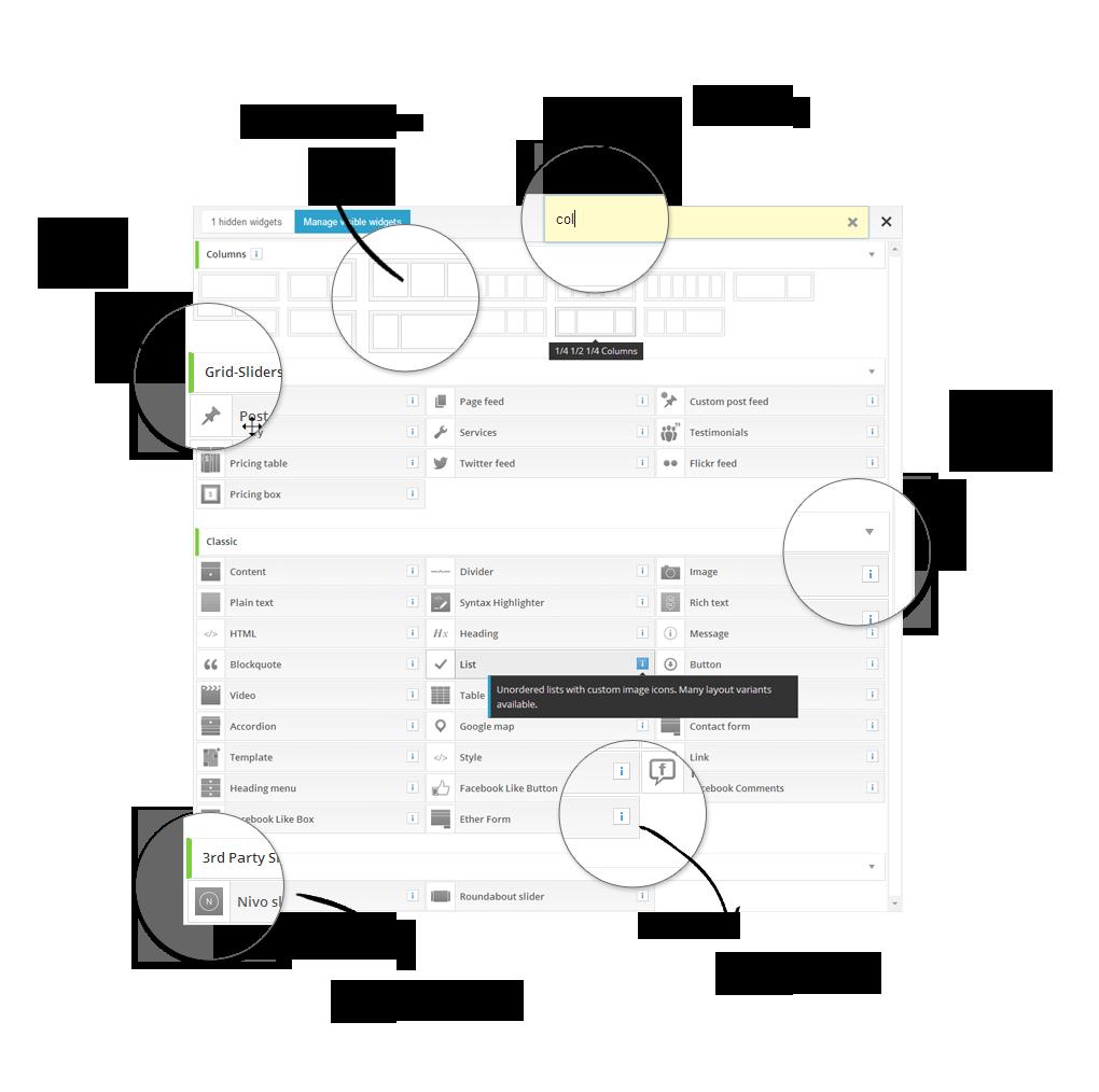 Ether Builder Admin UI Highlights 2