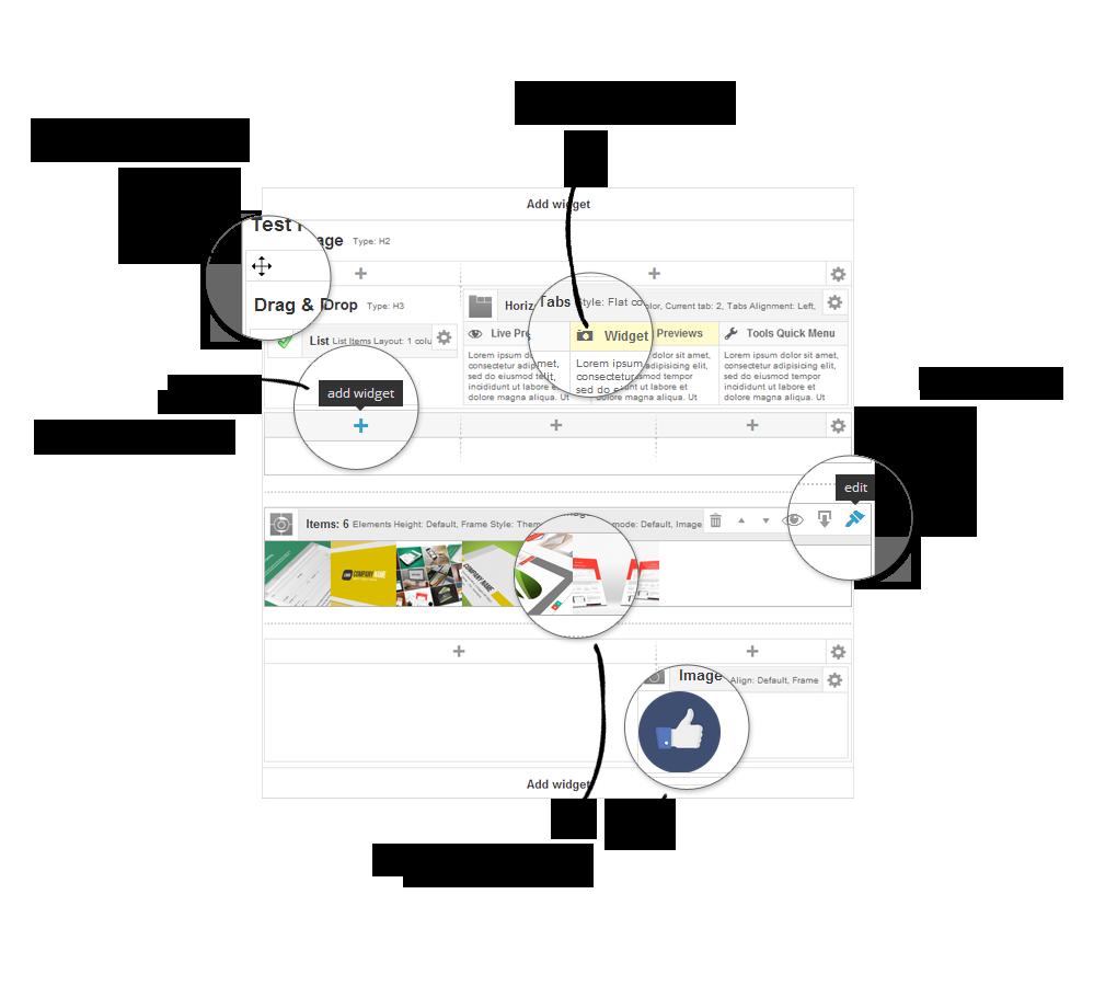 Ether Builder Admin UI Highlights